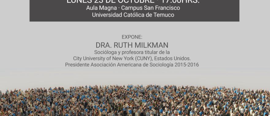 Afiche Ruth Milkman